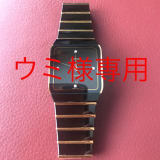 ラドー(RADO)の【ウミ様専用】RADOラドー jubile ダイヤスター  4Pメンズ腕時計(腕時計(アナログ))
