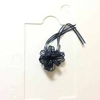 金糸の入った華やかなフラワーリボン♡ブルー単品(その他)