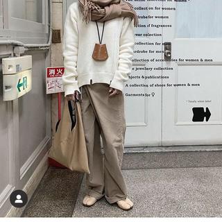 エムエムシックス(MM6)のMartin Margiela 今季 スリット ダメージ セーター ニット 白(ニット/セーター)