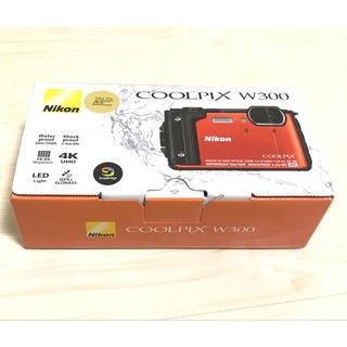 ニコン(Nikon)のNikon デジタルカメラ COOLPIX W300 オレンジ 防水 (コンパクトデジタルカメラ)