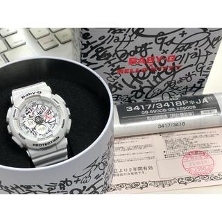 ベビージー(Baby-G)のG-SHOCK/baby-G/限定/BA-120KT/コラボ/ハローキティ/箱付(腕時計)