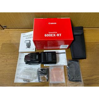 キヤノン(Canon)の美品・canon SPEEDLITE 600EX-RT(ストロボ/照明)