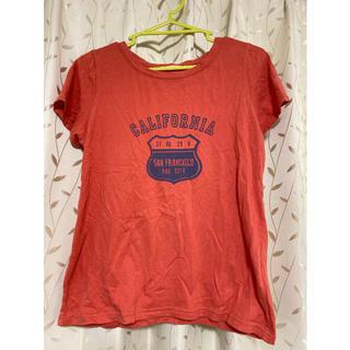オレンジ Tシャツ(Tシャツ(半袖/袖なし))