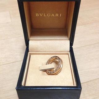 ブルガリ(BVLGARI)のブルガリ ピンクゴールド指輪(リング(指輪))