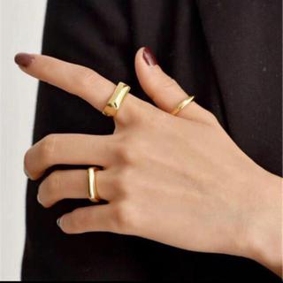 セリーヌ(celine)のmi39様 人差し指11号 ロゴ巾着(リング(指輪))