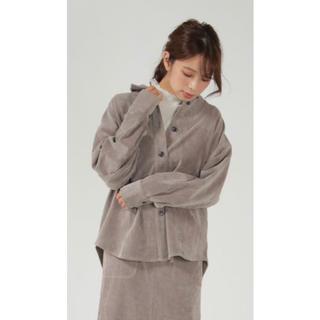 イッカ(ikka)のikka コールゆるシャツ(シャツ/ブラウス(長袖/七分))