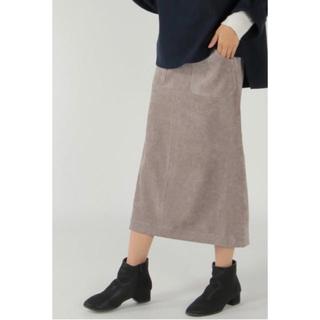 イッカ(ikka)のikka コールタイトスカート(ロングスカート)