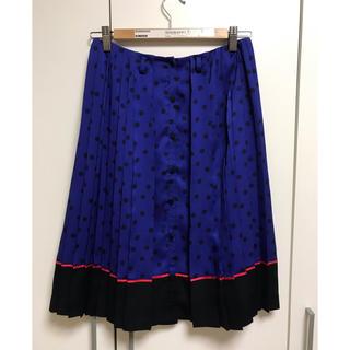 ルシェルブルー(LE CIEL BLEU)のルシェルブルー 水玉スカート(ひざ丈スカート)