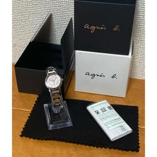 アニエスベー(agnes b.)の【人気ブランド・人気モデル】agnes.b アニエスベー SOLAR ソーラー(腕時計)