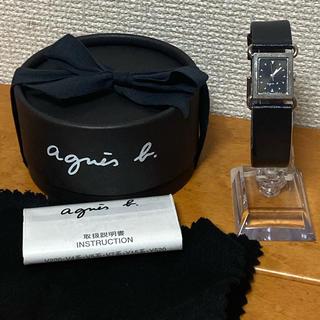 アニエスベー(agnes b.)の【人気ブランド・人気モデル】agnes.b アニエスベー スクエア(腕時計)