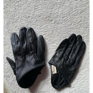 ザラ(ZARA)の【専用】レザーグローブ 手袋 コスプレにも♡(手袋)
