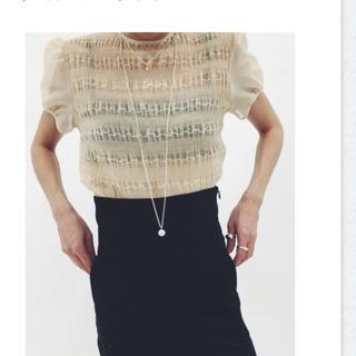 エディットフォールル(EDIT.FOR LULU)のエディットフォールル オーガンジーブラウス(シャツ/ブラウス(半袖/袖なし))