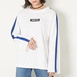CONVERSE - converse TOKYO ラインテープロングTシャツ