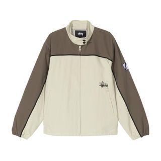 STUSSY - STUSSY Autopark Contrast Jacket カーキ