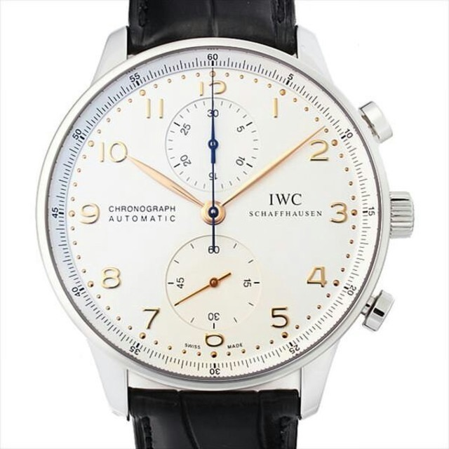 IWC -  IWC ポルトギーゼ クロノグラフ IW371445 新品 メンズ 腕時計の通販