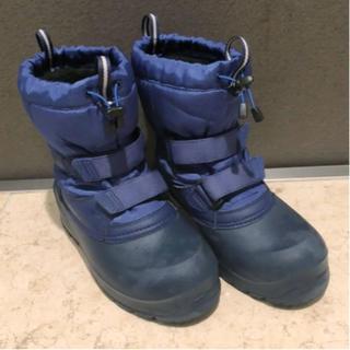 モンベル(mont bell)のUSED☆Montbell パウダーブーツ Kid's 22cm(ブーツ)