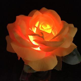 バラ 薔薇 大輪 ローズ アンティーク調ライト 間接照明 ランプ フラワーライト(その他)