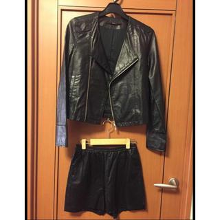 トゥモローランド Edition  ジャケット&ショートパンツ セットアップ