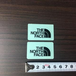 ザノースフェイス(THE NORTH FACE)の582 ⁑ ノースフェイス ステッカー 2点 ⁑ ミニロゴ ブラック!(その他)