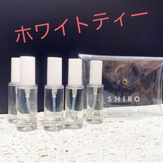 シロ(shiro)のホワイトティー SHIRO 伊勢丹新宿店 限定  ボディコロン (香水(女性用))