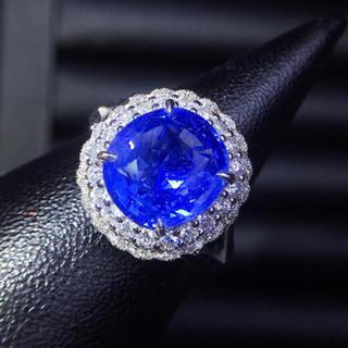(天使の指輪)天然コーンフラワー ダイヤモンド リング(リング(指輪))