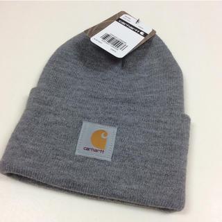 カーハート(carhartt)のカーハートニット帽 A18 GRY Carhartt gry (ニット帽/ビーニー)