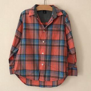 ギャップキッズ(GAP Kids)のチェックシャツ 130cm(ブラウス)