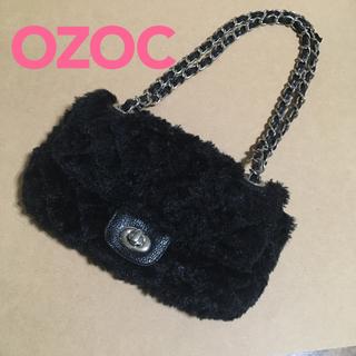 オゾック(OZOC)のOZOC❤️オゾック ファーバッグ チェーンバッグ レディースバッグ(ショルダーバッグ)