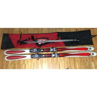 ロシニョール(ROSSIGNOL)のロシニョール スキー 168cm 板 ストック ケースカバー付き(板)