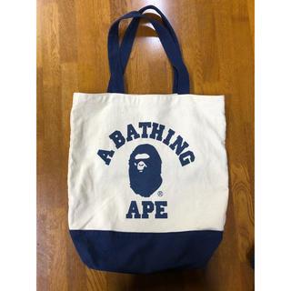 A BATHING APE - A BATHING APE キャンバストートバッグ