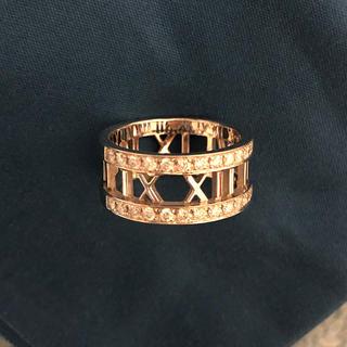 ティファニー(Tiffany & Co.)のティファニー  アトラス ダイヤリング (リング(指輪))