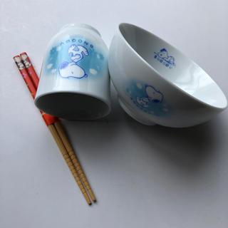 スヌーピー(SNOOPY)のお茶碗、お箸、湯呑み(その他)