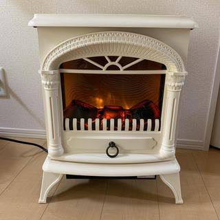 ニトリ(ニトリ)のニトリ 暖炉型ファンヒーター アイボリー(ファンヒーター)