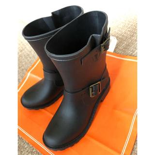 シマムラ(しまむら)のレインブーツ ブラック(レインブーツ/長靴)