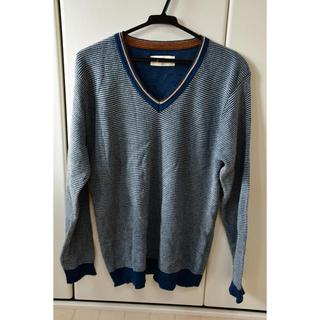 イッカ(ikka)の【値下げしました!】ikka メンズセーター Lサイズ(ニット/セーター)
