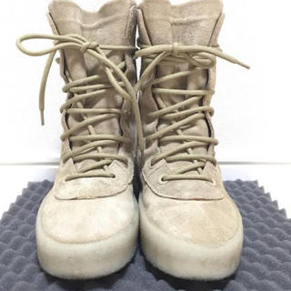 アディダス(adidas)の【42】YEEZY SEASON 2 VELOUR BOOTS ベロアブーツ(ブーツ)