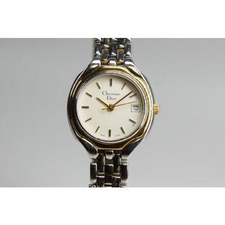 クリスチャンディオール(Christian Dior)の【電池交換済】クリスチャンディオール 3001 レディース 時計 コンビ(腕時計)