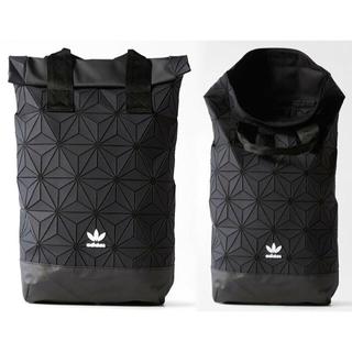 adidas - adidas originals 3D ROLL TOP BACKPACK 黒