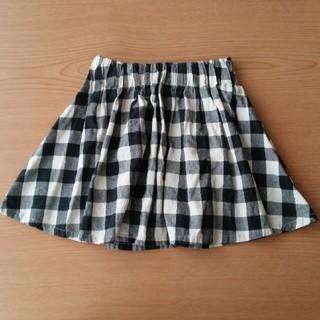 ひらひら チェック柄 スカート(スカート)
