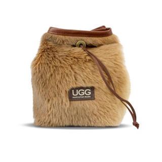 アグ(UGG)の【オリジナル】アグ  UGG ファーバッグ 巾着 ショルダー カンガルー (ショルダーバッグ)