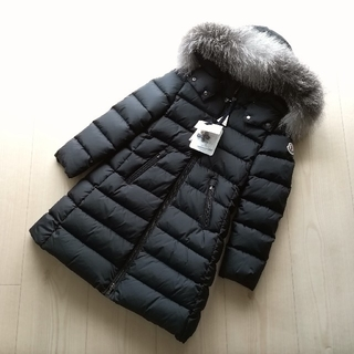 MONCLER - 8A ブラック ABELLE  モンクレールキッズ