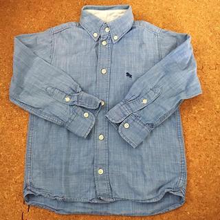 エイチアンドエム(H&M)の◆H&M ダンガリーシャツ デニムシャツ  シャンブレー110cm (ブラウス)