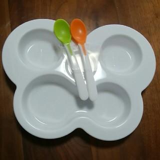 リッチェル(Richell)のRichell 離乳食用お皿&スプーン2本(離乳食器セット)