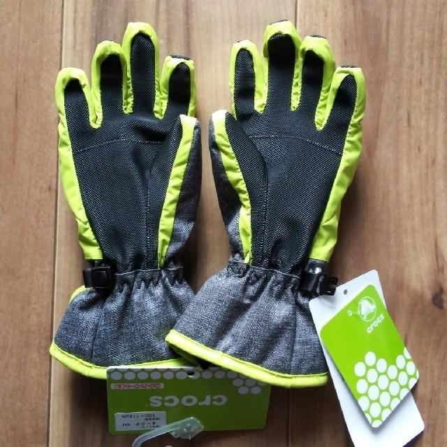 crocs(クロックス)のcrocs キッズ 手袋100~110cm キッズ/ベビー/マタニティのこども用ファッション小物(手袋)の商品写真