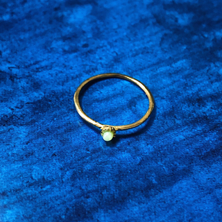 ポイントピンキーリング シャインマスカット(リング(指輪))