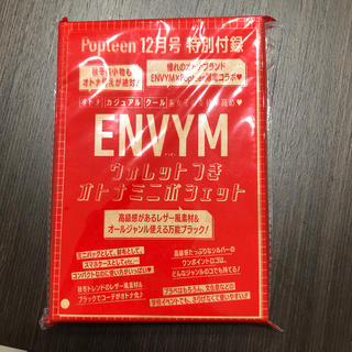 アンビー(ENVYM)のポップティーン⭐️12月号⭐️特別付録(ポーチ)