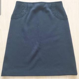 サルヴァトーレフェラガモ(Salvatore Ferragamo)のFerragamo ニットスカート(ひざ丈スカート)