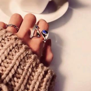 ムルーア(MURUA)の即完売シルバーリングs925★(リング(指輪))