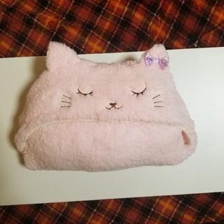 マザウェイズ(motherways)のマザウェイズ 眠り猫 ポンチョ ケープ ブランケット おくるみ 秋冬(おくるみ/ブランケット)
