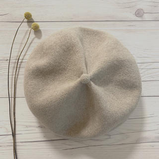 ネストローブ(nest Robe)のmature ha. マチュアーハ トップギャザー リブ ベレー帽(ハンチング/ベレー帽)